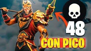 Video 48 KILLS Con PICO!! REACCIONANDO (Fails en FORTNITE: Battle Royale) MP3, 3GP, MP4, WEBM, AVI, FLV Juni 2019