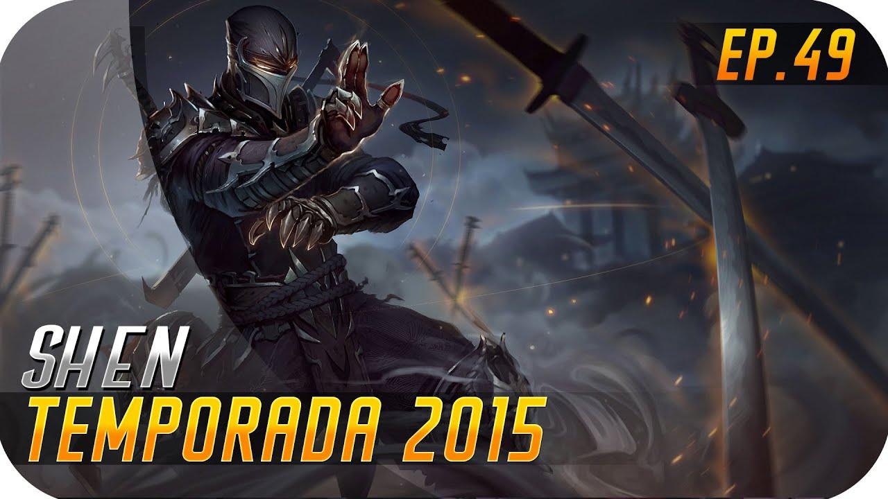 TEMPORADA 2015   EP 49   SHEN   El Ninja Salvaculos is back!!