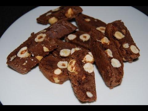 cantucci nocciole & cacao - ricetta