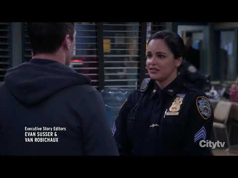 Amy Finds Out She's Having A Boy | Brooklyn 99 Season 7 Episode 10 | Admiral Peralta