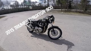 6. 2015 Triumph Thruxton 900 - Third bike tested
