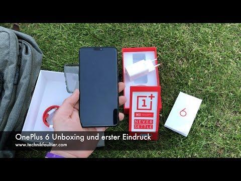 OnePlus 6 Unboxing und erster Eindruck