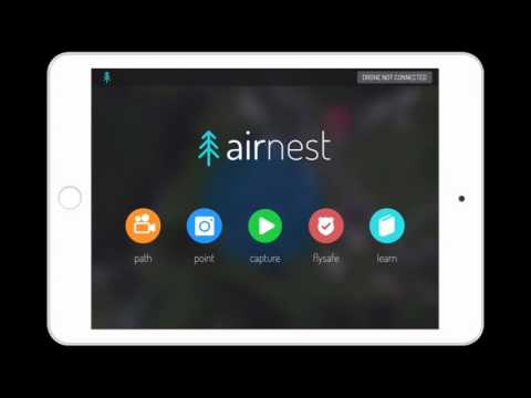 Screen capture of DJIGO & Airnest