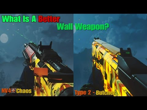 Epic - Type 2 (Butcher) vs. Epic - NV4 (Chaos) - What's The Best Epic Variant In Zombies?