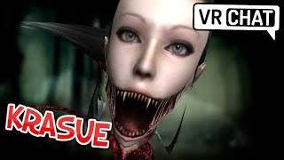[VRChat] Krasue floats her way into vrchat! (Eyes: Horror Game)
