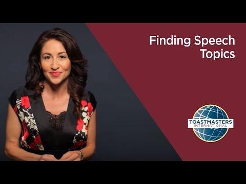 Finding Speech Topics