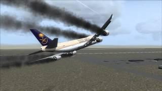 Video Saudia Cargo 747-8F Crash Jeddah [Engine Fire / Gear Fail] MP3, 3GP, MP4, WEBM, AVI, FLV Juli 2018