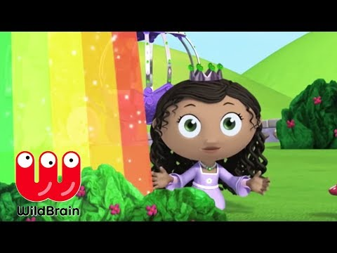 Super Why | Full Episodes | Story Time With Rainbow Princess | Videos For Kids
