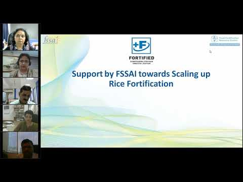 FSSAI Consultation with States on Rice Fortification Gujarat.