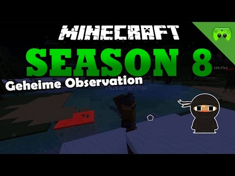 Geheime Observation «» Minecraft Season 8 # 198 | HD