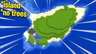 Minecraft Speed Run But It's The Worst Spawn Ever