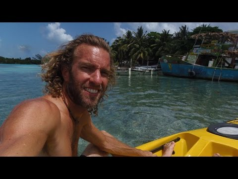 Caribbean Kayaking Adventure! Caye Caulker Island, Belize