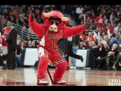 Chicago Bulls Benny - Çılgın Maskot (видео)