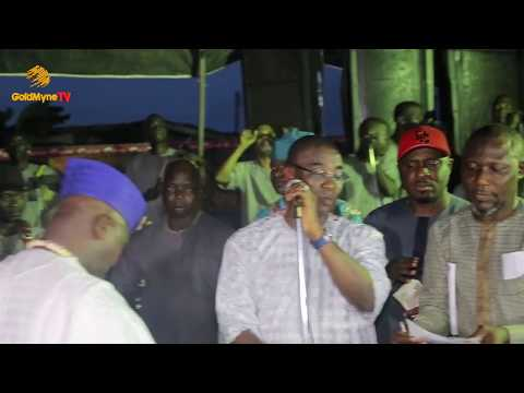 K1 DE ULTIMATE'S PERFORMANCE AT OBA IGANDO 40TH YEAR CORONATION ANNIVERSARY