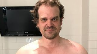 Video David Harbour's Intense Body Transformation To Become Hellboy MP3, 3GP, MP4, WEBM, AVI, FLV Januari 2018