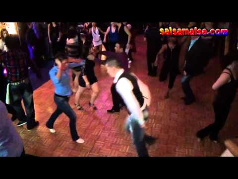 Angelo Frascolla and Özlem Sevimkan | Social Salsa | Amsterdam International Salsa Congress 2011