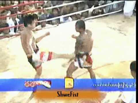 Myanmar lethwei, Tway McShawn vs Poe K (2nd fight), 3/3