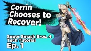 SMASH 4 TIPS: Corrin Tech – Recover From Offstage Dair (limited)