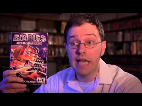 Angry Video Game Nerd - Big Rigs (RUS)