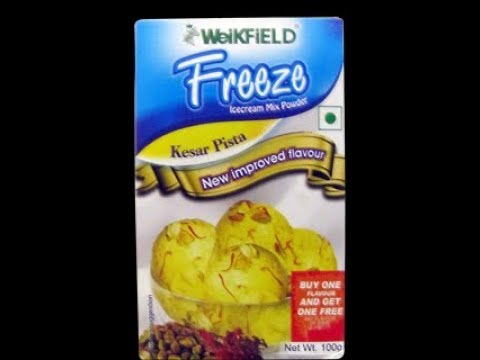Cook WeiKFiELD Ice Cream Kesar Pista