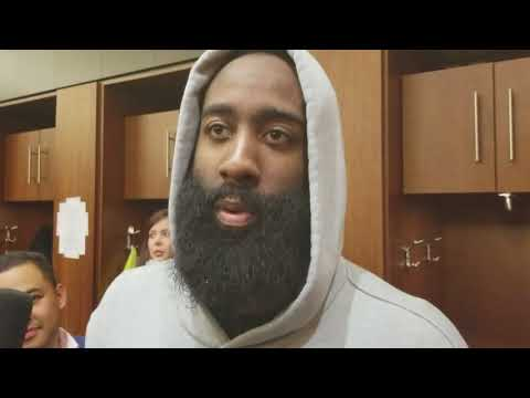 James Harden after scoring 27 against the Suns