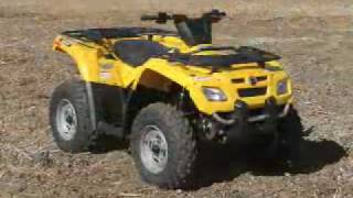 7. ATV Television Test - 2007 BRP Outlander 400