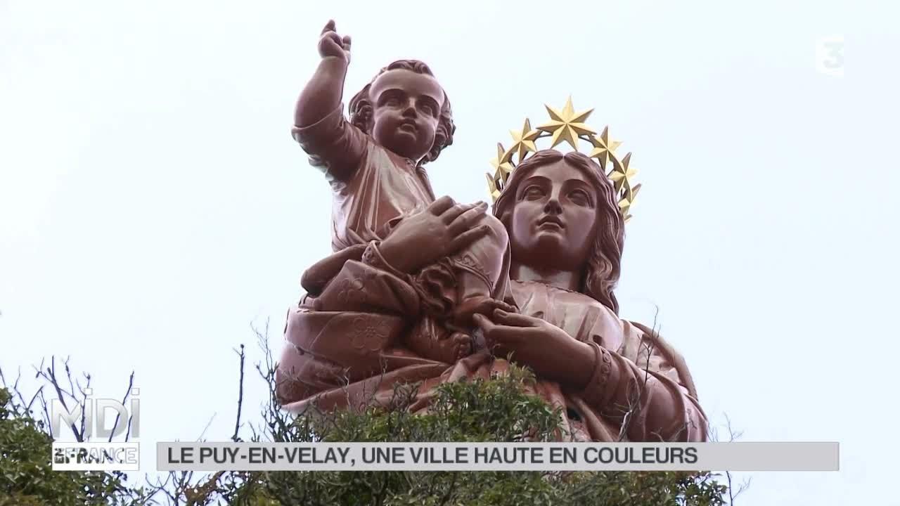 Présentation du Puy-en-Velay Midi en France Mars 2015