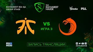 Fnatic vs TNC, PGL Major SEA, game 3 [Adekvat]