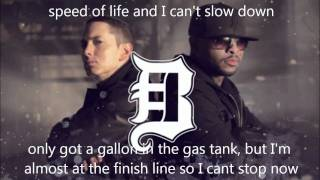 Eminem - Bad Meets Evil - Fast Lane lyrics (Dirty/Explicit)