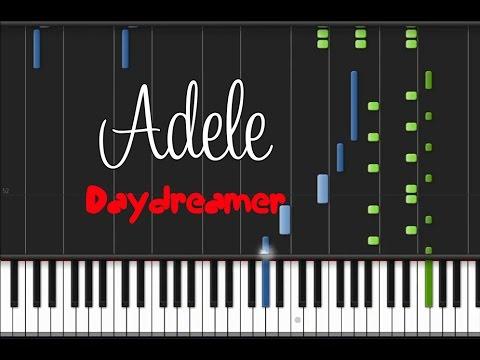 Adele – Daydreamer [Piano Tutorial] (♫)