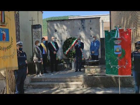Commemorate le 17 vittime avezzanesi dell'eccidio di Capistrello