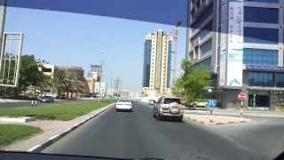 Ras Al Khaimah United Arab Emirates  city photos : Driving in Ras Al Khaimah, UAE 28.09.2013 نقود السيارة في شوارع رأس الخيمة