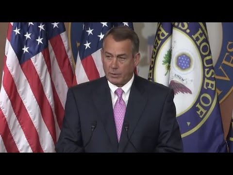 obama jobs - At his weekly press briefing today, House Speaker John Boehner (R-OH) said the president's misguided policies - from his national energy tax that will make e...