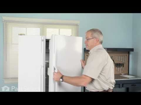 Refrigerator Repair – Replacing the Door Closing Cam (GE Part# WR2X4901)