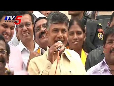 I Will Bring farmer - friendly Govt | Chandrababu : TV5 News