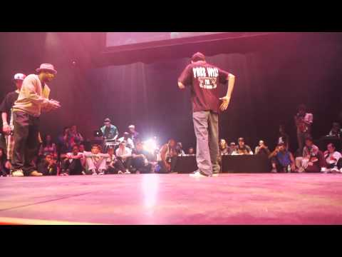 Poppin Top 16: Namco & Tronik (Funny Bones) vs DKC & C-Pop | Bust A Move 2011 | Funk'd Up TV