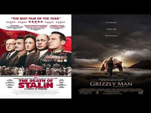 'The Death Of Stalin' & 'Grizzly Man' Blu Ray Unenvelopeings, Gone Wrong  ...