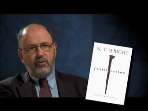 Justification - In this interview N. T. Wright discusses his book, 