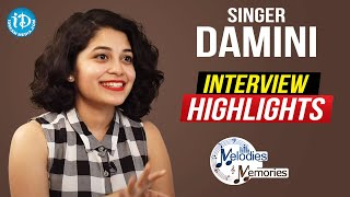Singer Damini Bhatla Exclusive Interview Highlights | Melodies And Memories