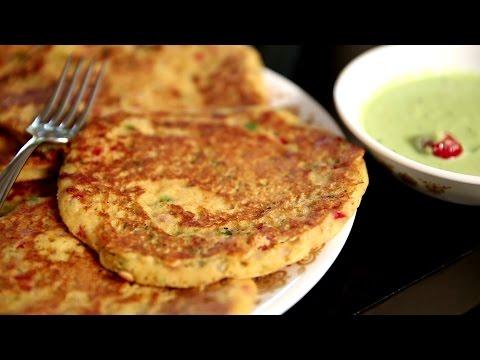 Rava Uttapam | Instant Sooji/Semolina Uttapam Recipe – Breakfast Recipe | Ruchi's Kitchen
