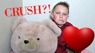 SECRET CRUSH?! | VALENTINES SLUMBER PARTY