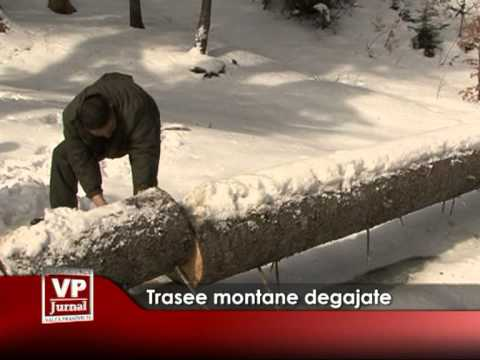 Trasee montane degajate