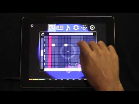 Video of Reactable mobile