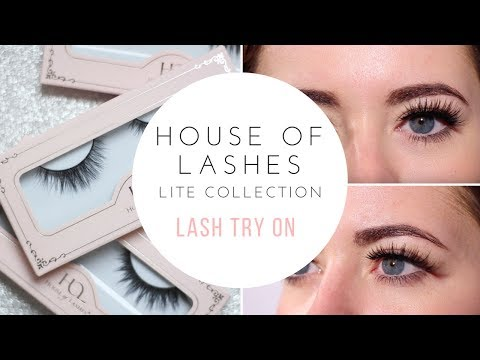 HOUSE OF LASHES LITE COLLECTION: FULL REVIEW & TRY ON