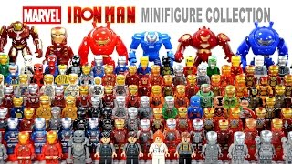 Ultimate LEGO Iron Man™ House Party Protocol Suit of Armors 2016 Marvel Complete Collection