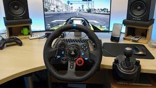 Project Cars cu Volan Logitech G29 cu Pedale si Schimbator