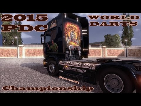 2015 PDC World Darts Championship – Limited Edition Skin Scania