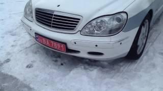 видео авто Mercedes-Benz S в кредит