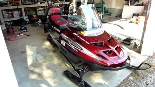 8. 2001 Polaris 550 Touring walk around