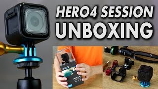 Video Unboxing the NEW GoPro HERO4 Session + New Accessories & Thoughts on the smallest GoPro ever! MP3, 3GP, MP4, WEBM, AVI, FLV November 2018